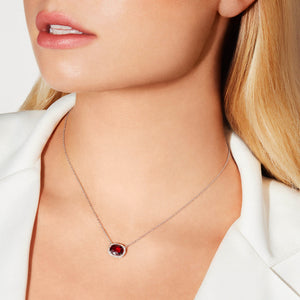 Ruby and Diamond Pendant by Material Good - Material Good