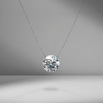 Round Brilliant Cut Diamond Pendant