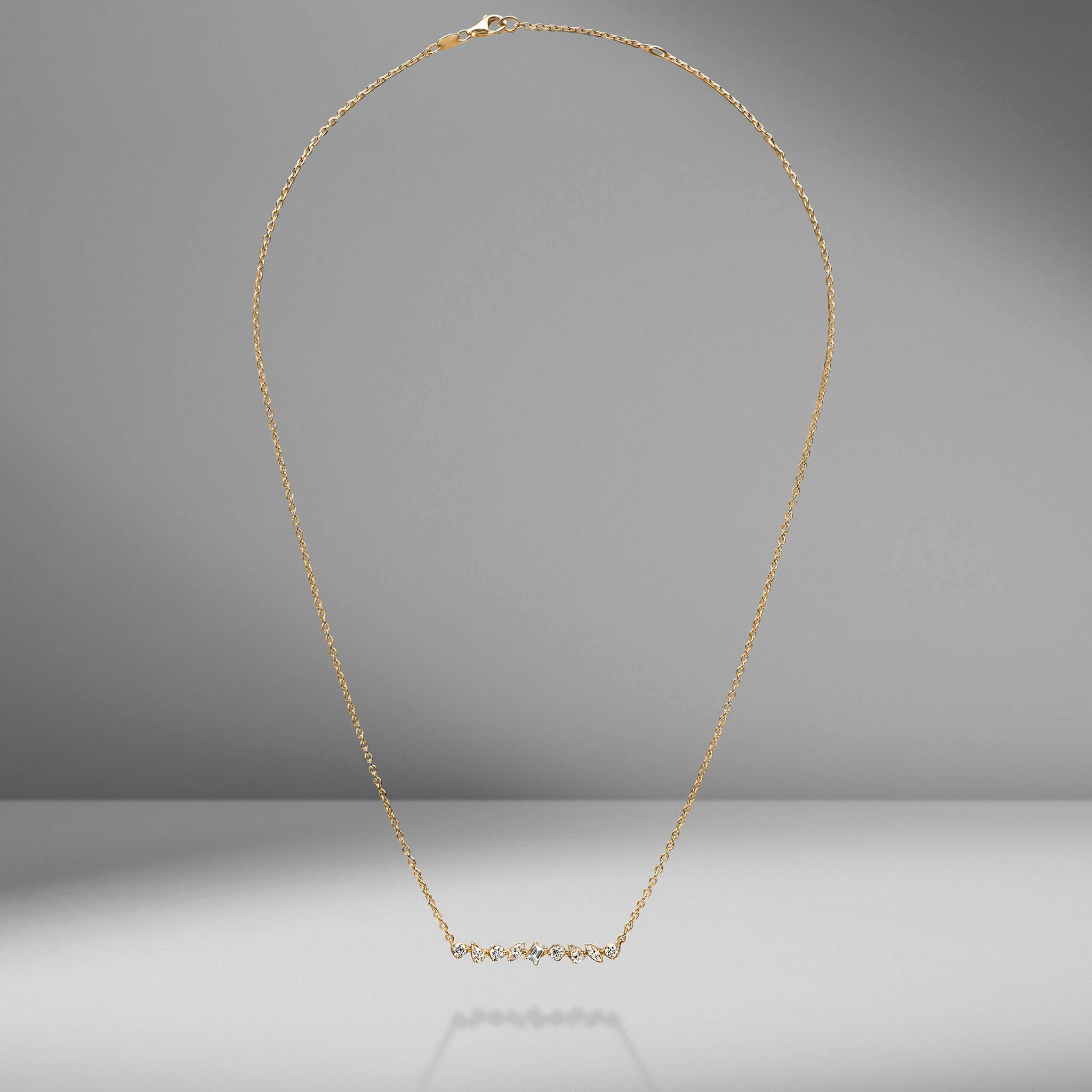 Multi-Shape Bar Pendant