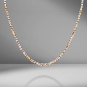 Medium Diamond Tennis Necklace