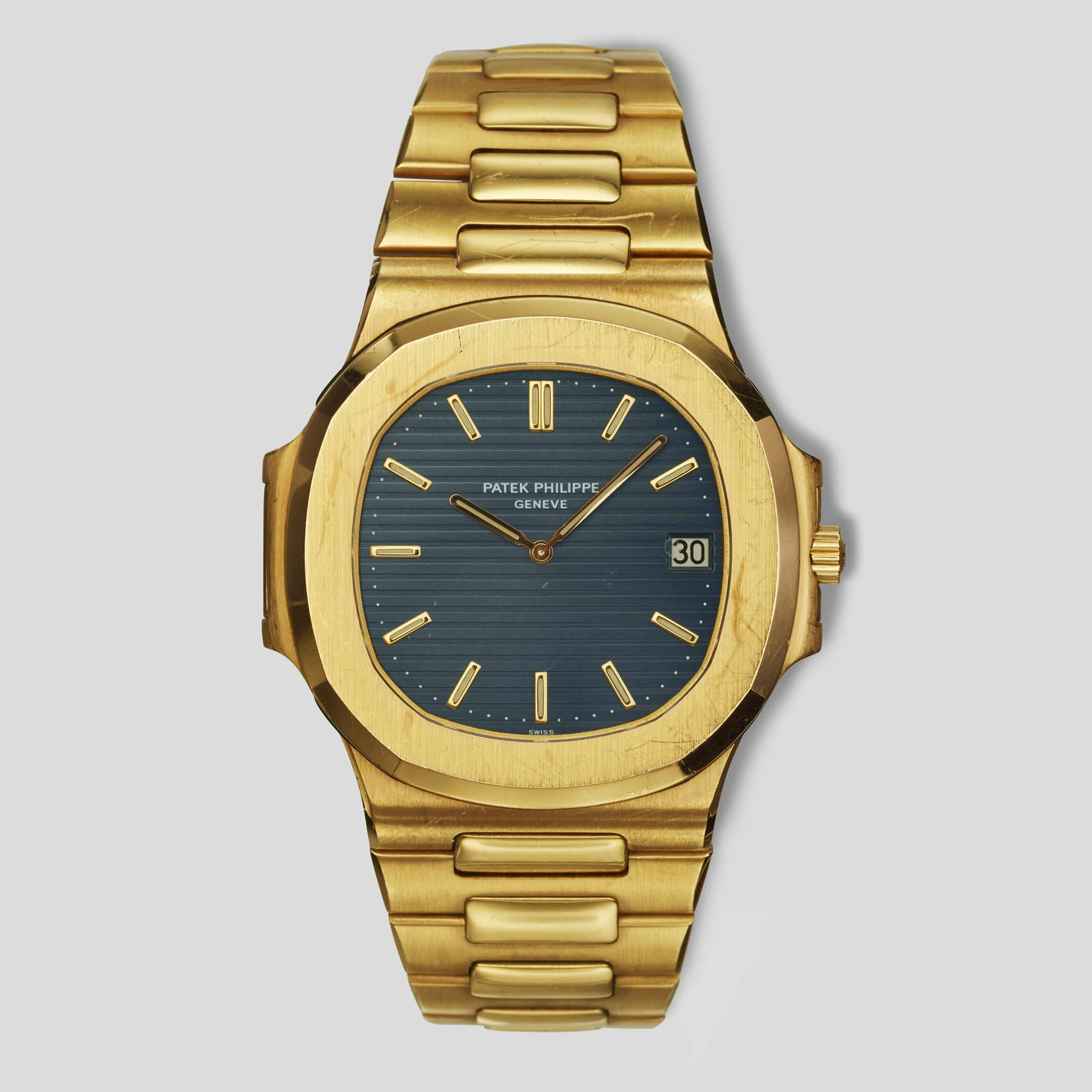 "Nautilus Ref. 3700 ""Jumbo"" in Yellow Gold"
