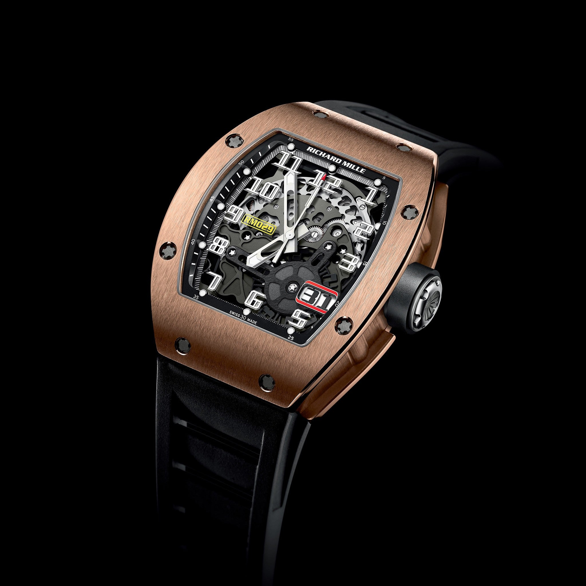 RM 029 Oversize Date Red Gold - Richard Mille