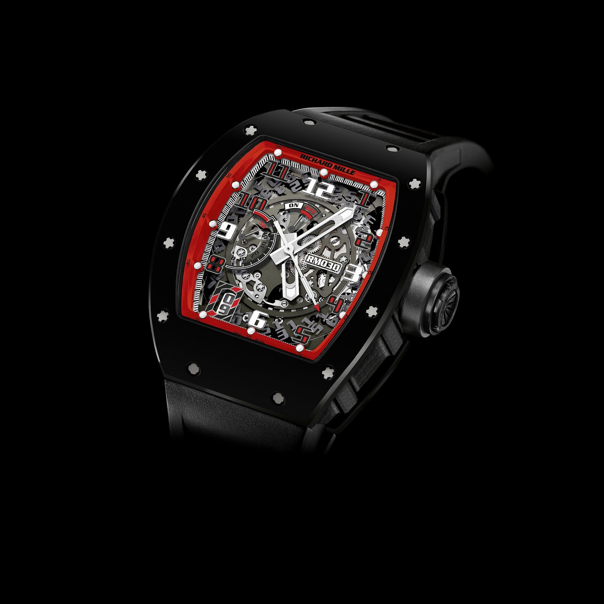RM 030 Black Dash - Richard Mille