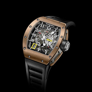 RM 030 Declutchable Rotor Red Gold - Richard Mille