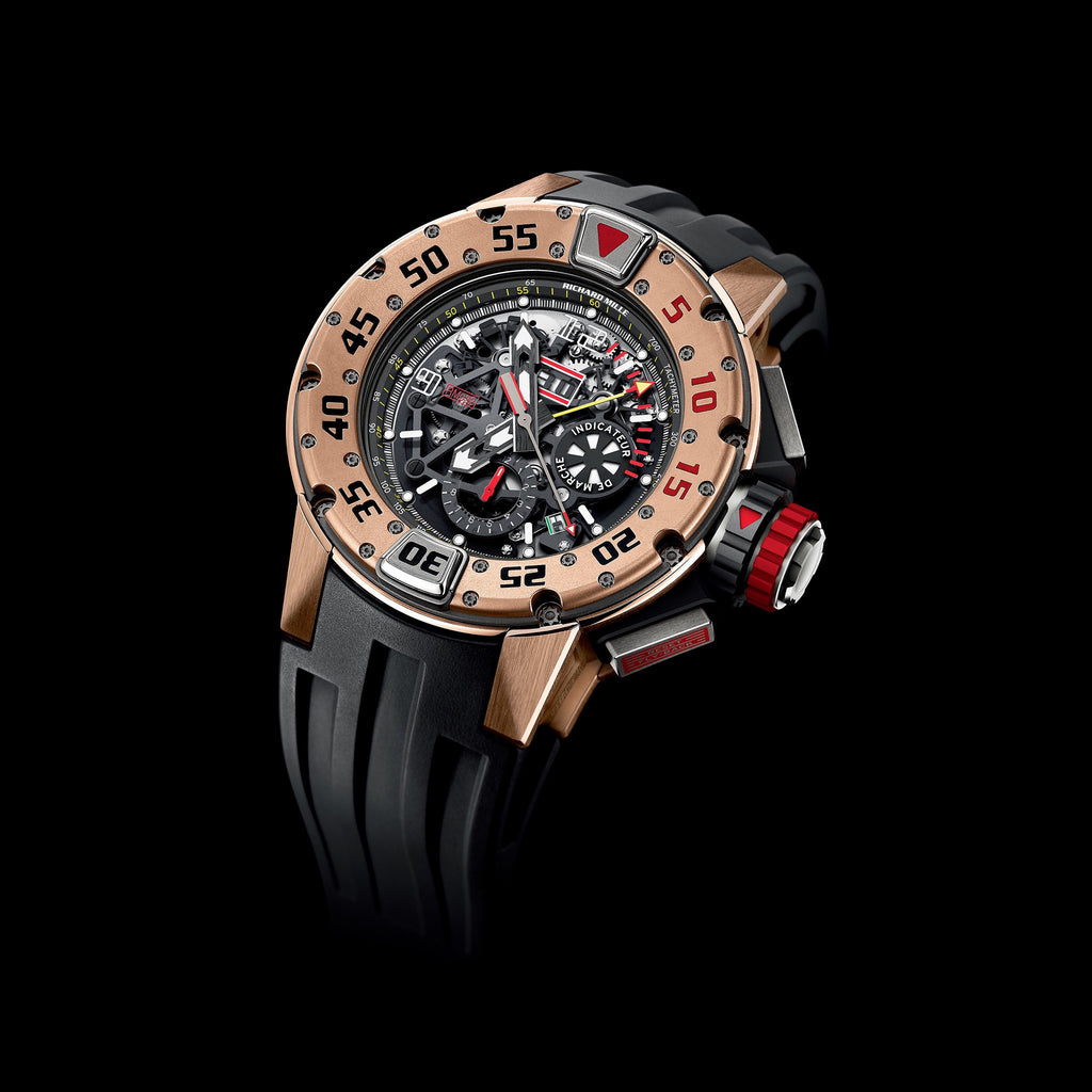 RM 032 Diver's Watch Red Gold - Richard Mille