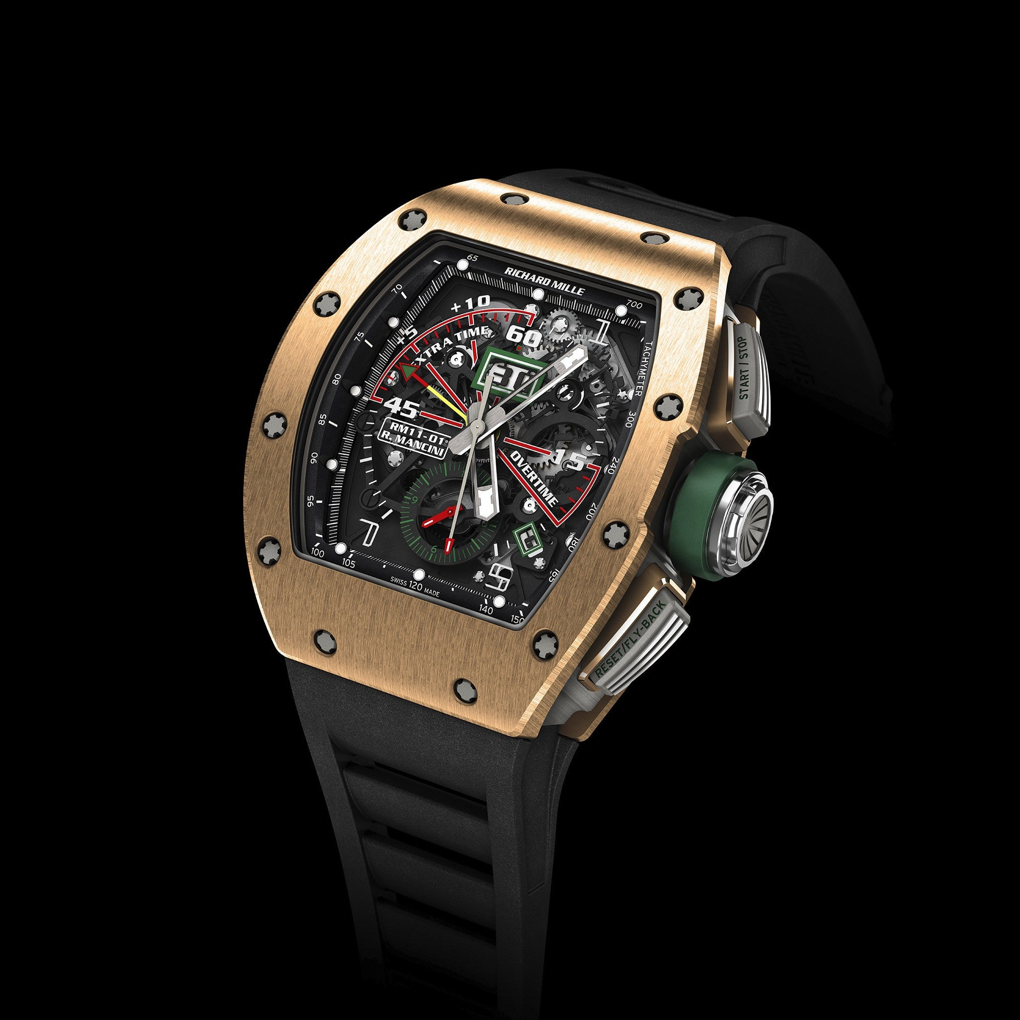 RM 11-01 Roberto Mancini Red Gold - Richard Mille