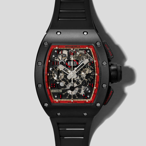 RM011 Flyback Chronograph Midnight Fire