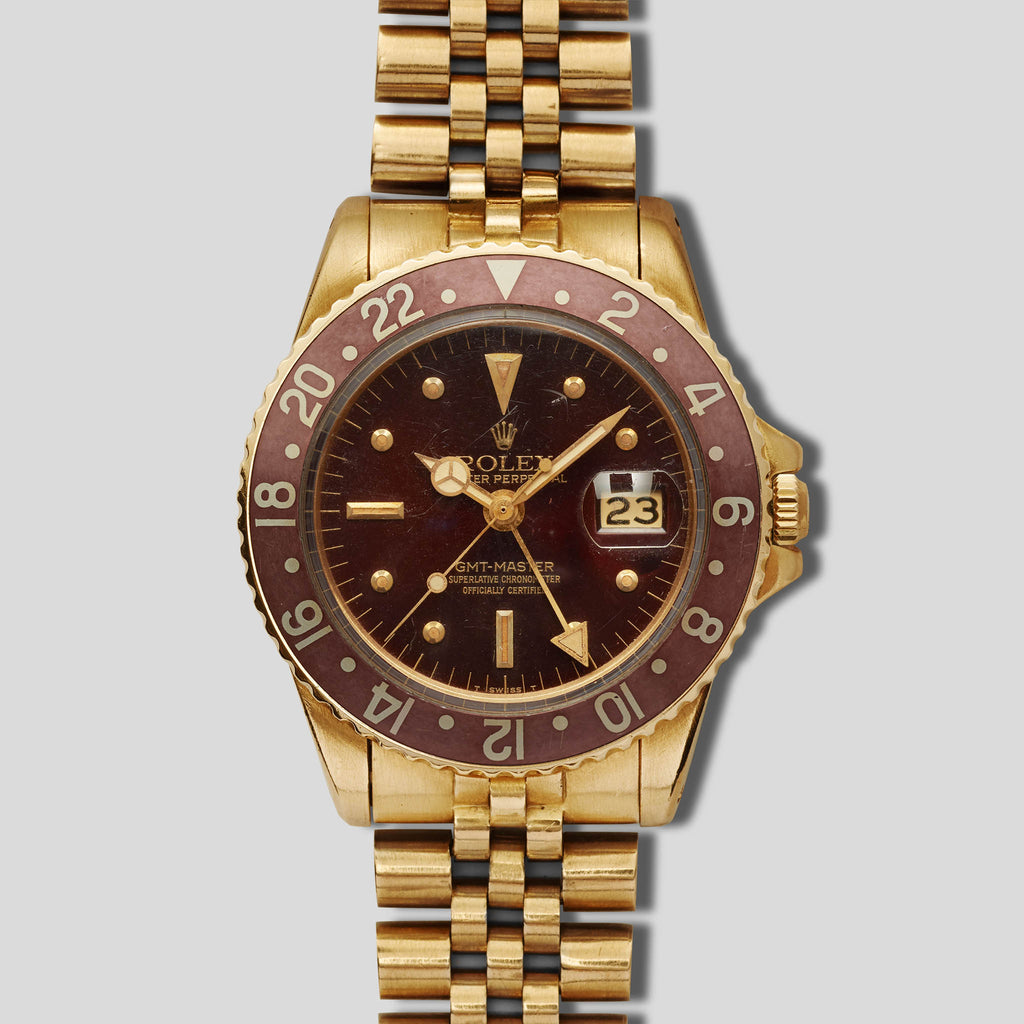 ROLEX YELLOW GOLD GMT 1675