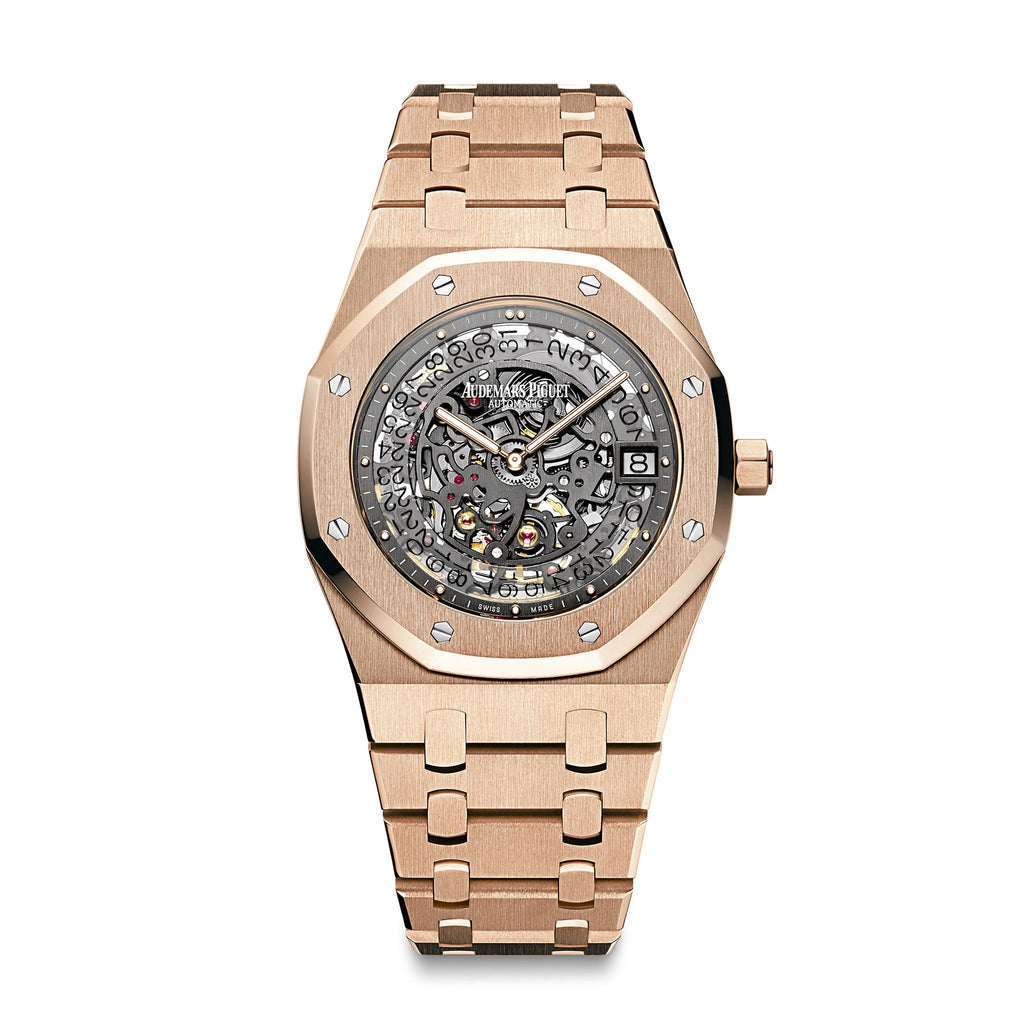 Royal Oak Openworked Extra Thin 15204OR.OO.1240OR.01 - Audemars Piguet