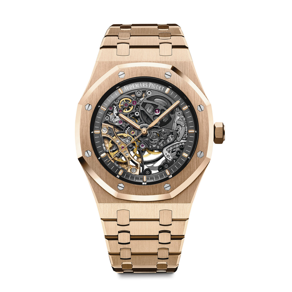 Royal Oak Double Balance Wheel Openworked Ref.15407OR.OO.1220OR.01 - Audemars Piguet