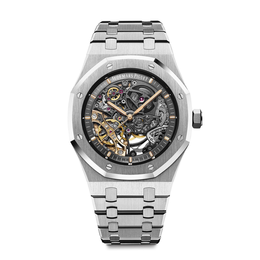 Royal Oak Double Balanced Wheel Openworked 15407ST.OO.1220ST.01 - Audemars Piguet