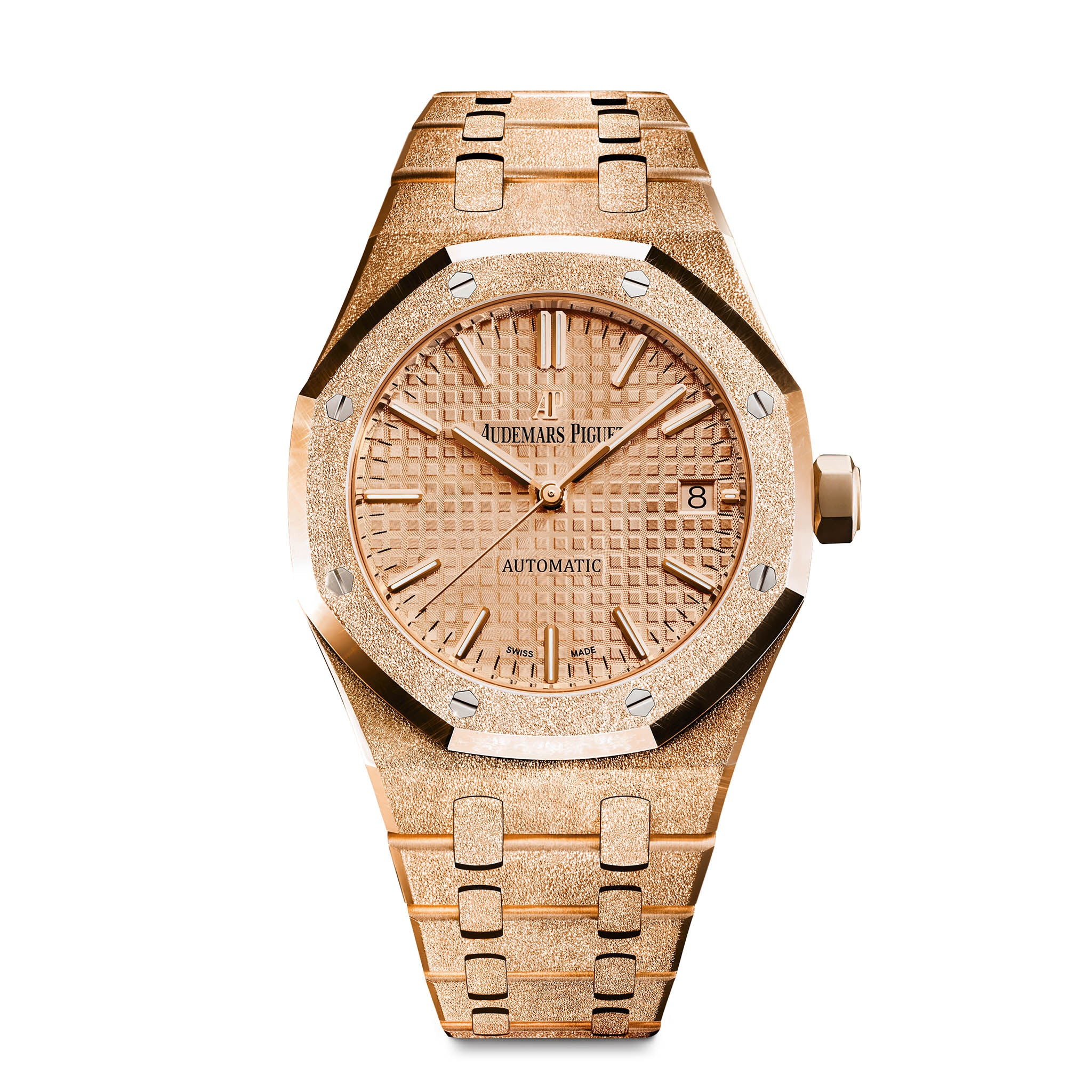 Frosted Royal Oak Ladies Selfwinding 15454OR.GG.1259OR.03 - Audemars Piguet
