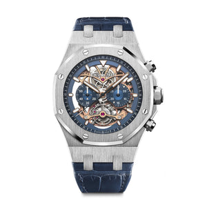 Royal Oak Tourbillon Openworked Chronograph 26347PT.OO.D315CR.01 - Audemars Piguet