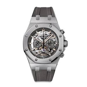 Royal Oak Openworked Tourbillon Chronograph 26347TI.GG.D004CA.01 - Audemars Piguet