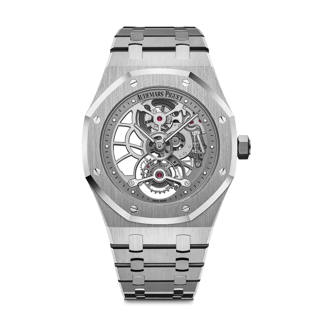 Royal Oak Tourbillon Openworked Extra-Thin 26518ST.OO.1220ST.01 - Audemars Piguet