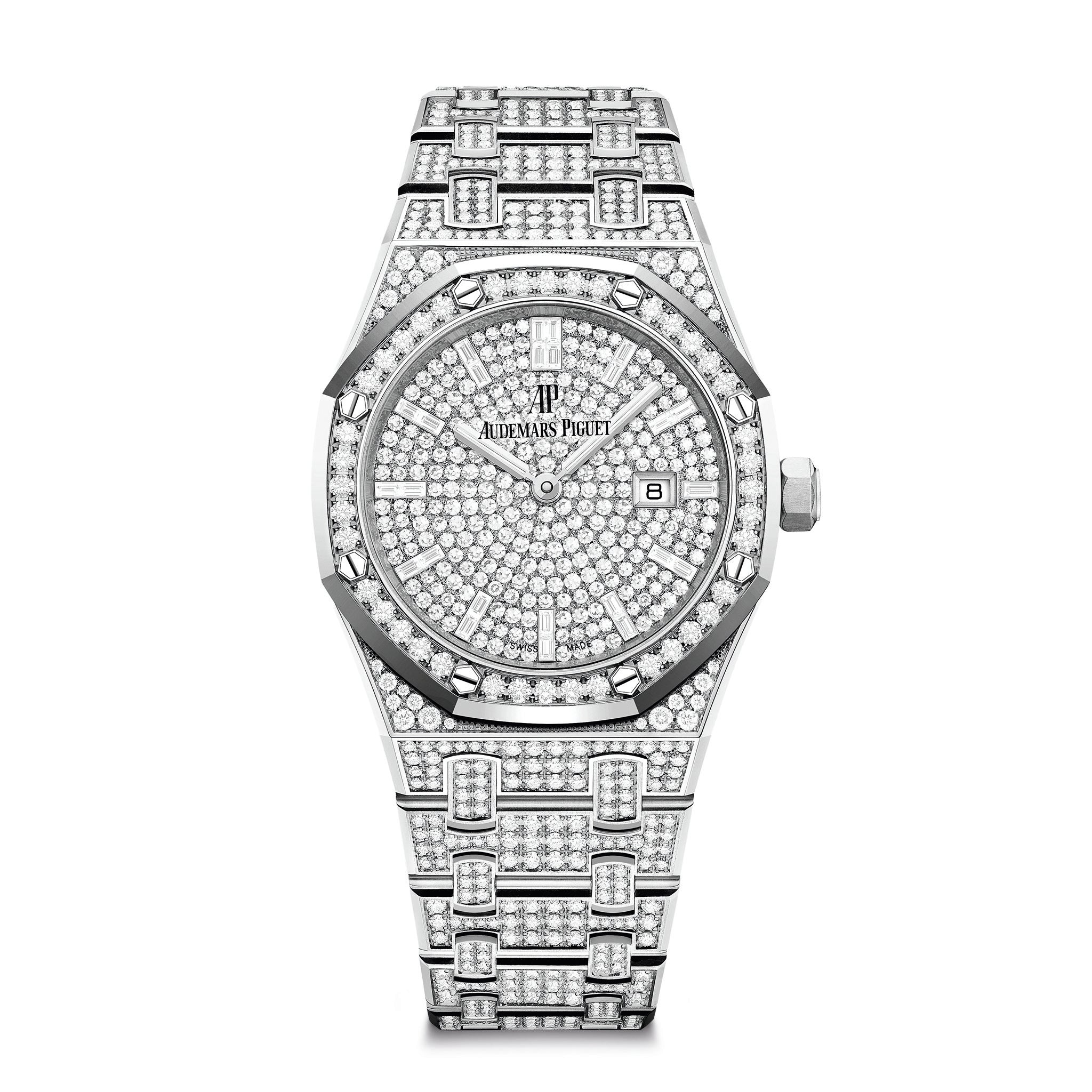 Royal Oak Ladies Quartz 67652BC.ZZ.1265BC.01
