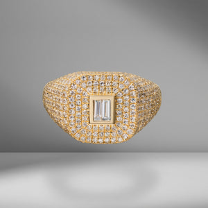 Pavé Mixed Diamond Champion Ring