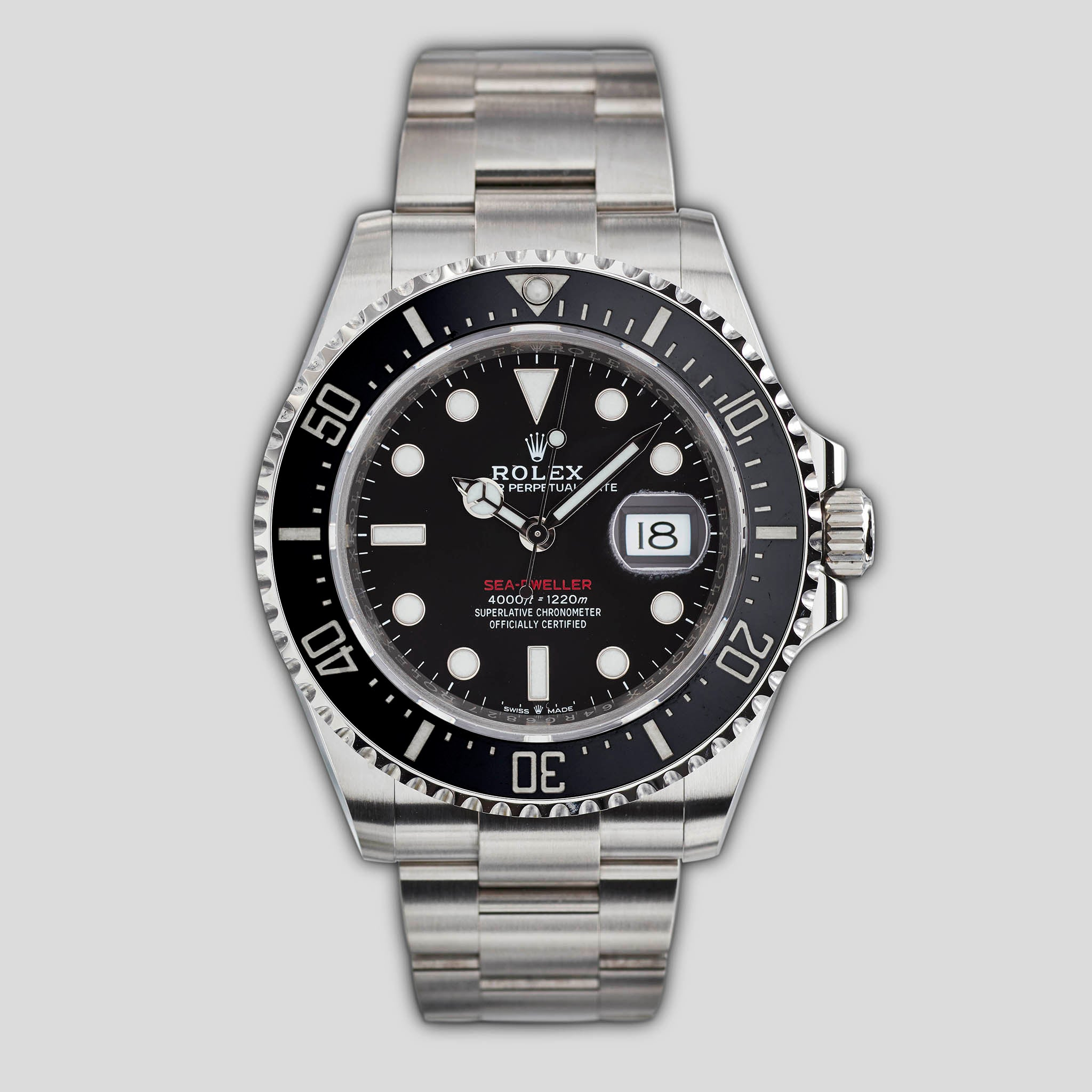 """Red Sea"" Sea-Dweller reference 126600"