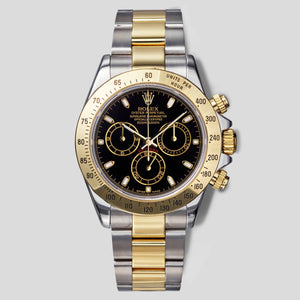 Yellow Gold and Steel two-tone Daytona 116523