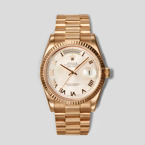 Rolex 36mm Everose Gold Day-Date