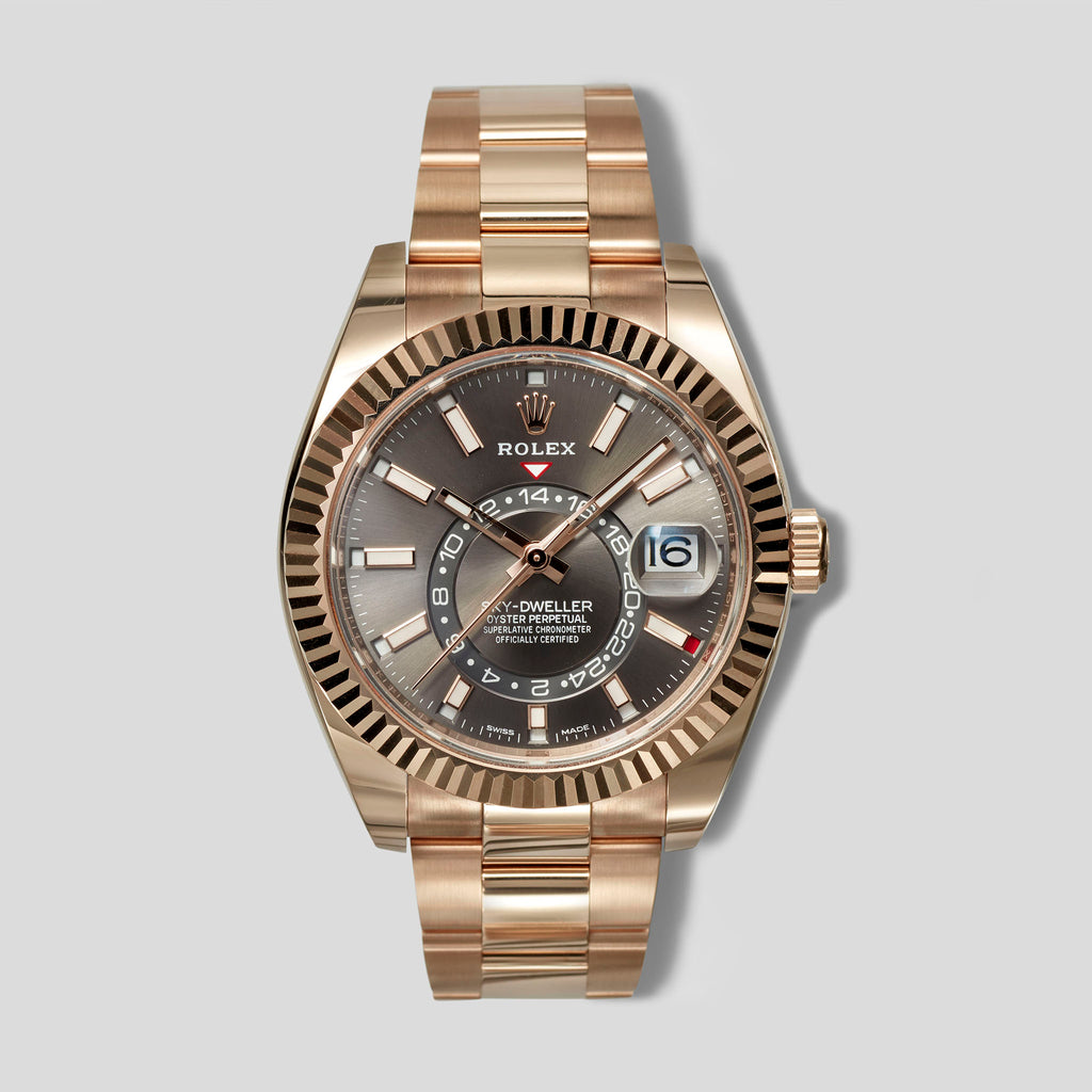 Rolex Sky-Dweller In Rose Gold