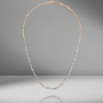 Mini Classic Fireworks Diamond Tennis Necklace