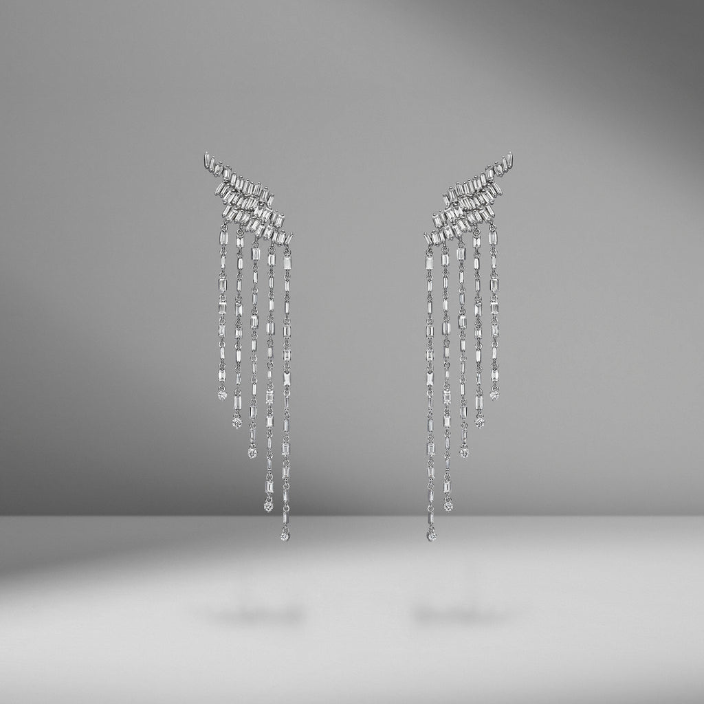 Fringe Waterfall Earring