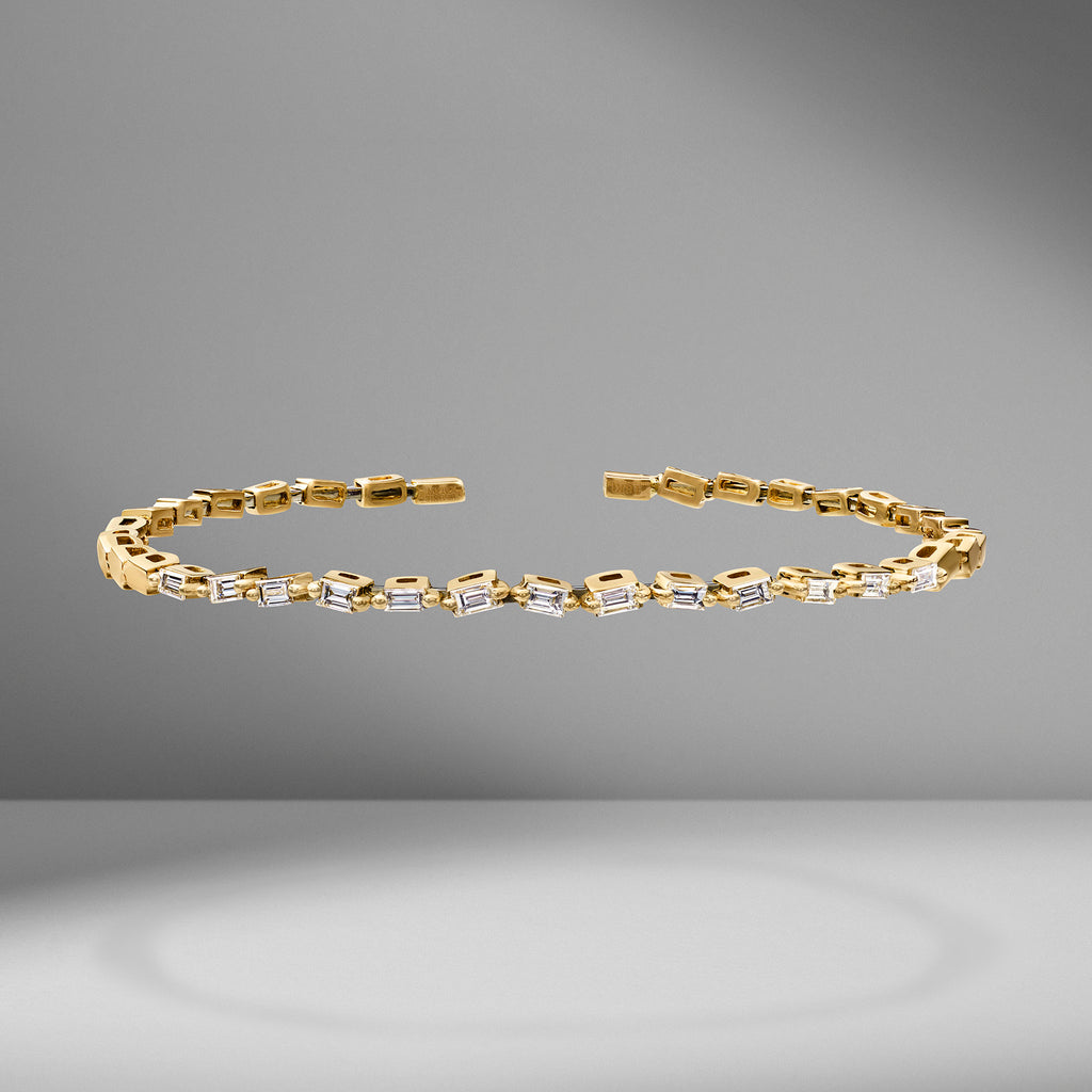 Thin Classic Fireworks Bangle