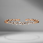Fireworks ZigZag Diamond Bangle
