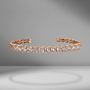 Fireworks Shimmer Diamond Bangle