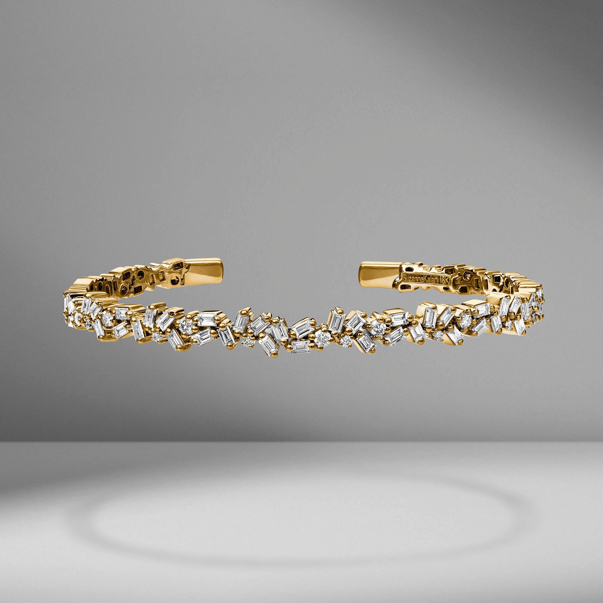 Fireworks Sparkler Diamond Bangle
