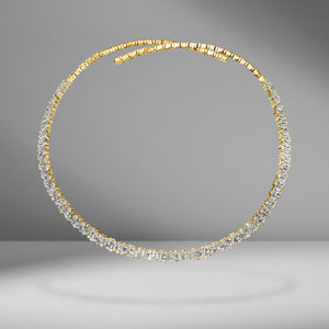 Shimmer Collection Collar Necklace