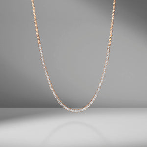 Classic Fireworks Diamond Tennis Necklace