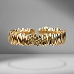 Solid Medium Sparkler Bangle