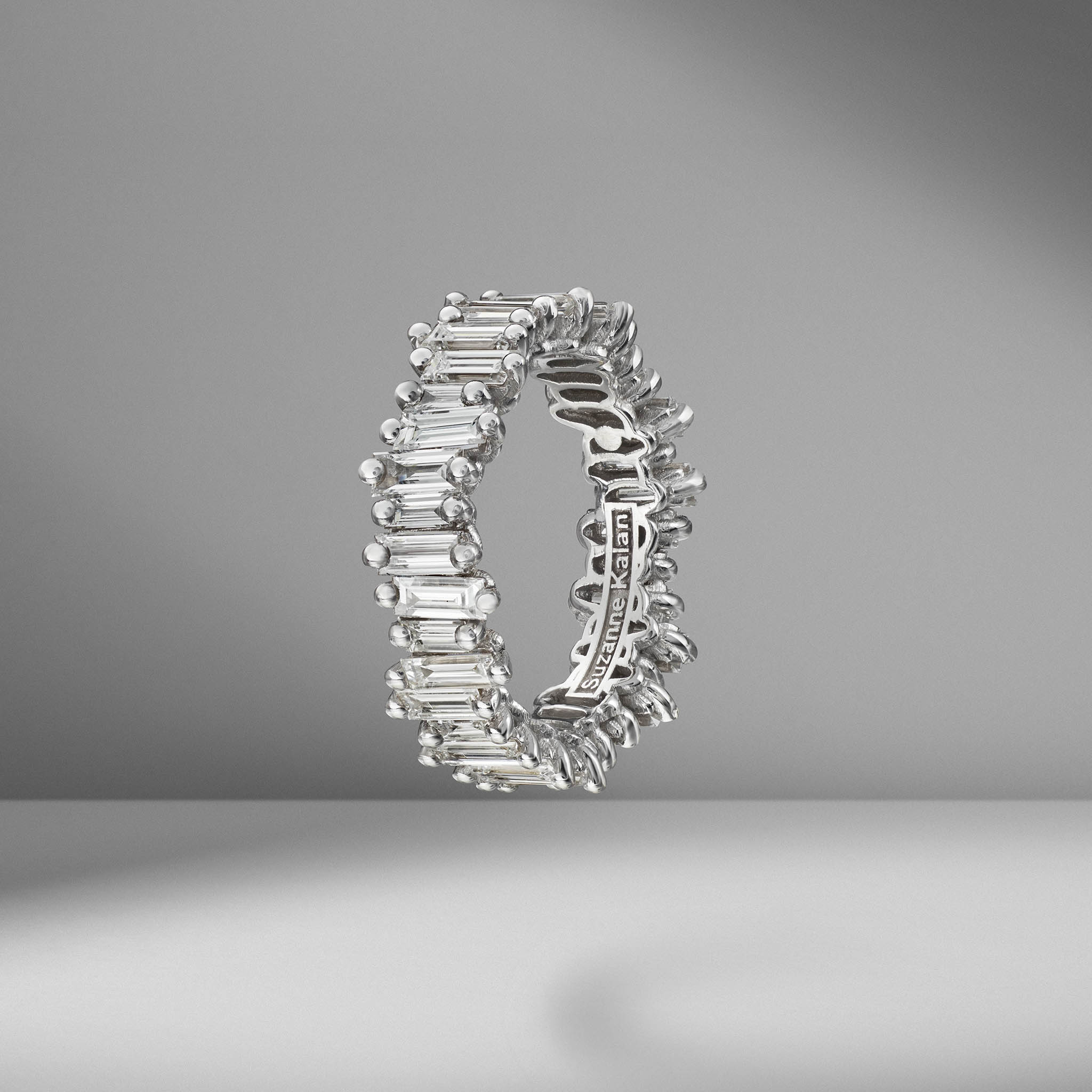 Diamond Baguette Eternity Band