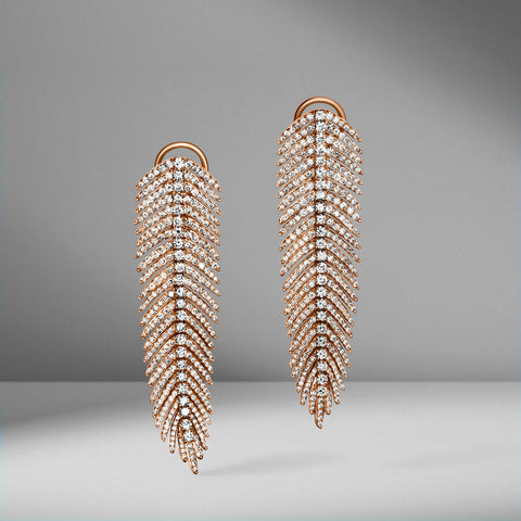Feather Earrings by Sutra