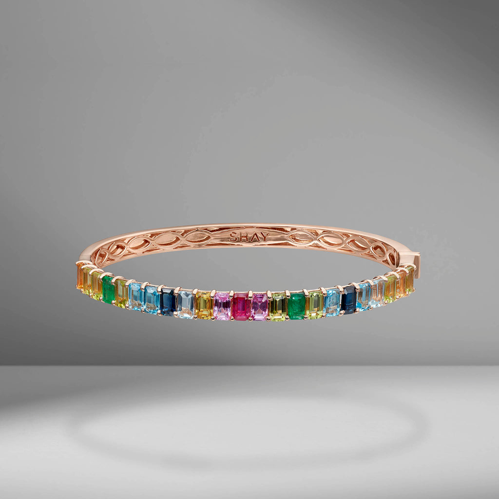 Rainbow Eternity Bangle