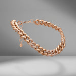 Jumbo Alternating Pavé Link Necklace