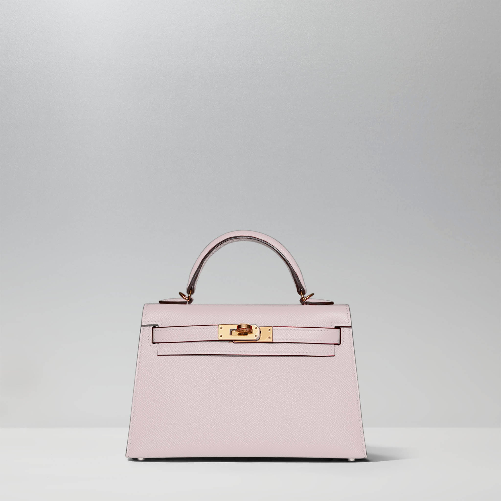Mini Kelly 20cm in Craie by Hermès