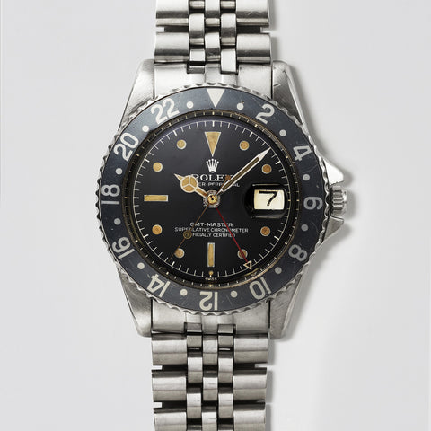 GMT ref 1675 Gilt Dial Exclamation Point