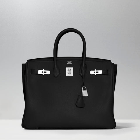 Birkin 35cm in Black by Hermès