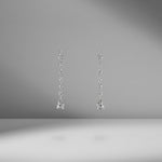 Fancy Shape Diamond Drop Earrings