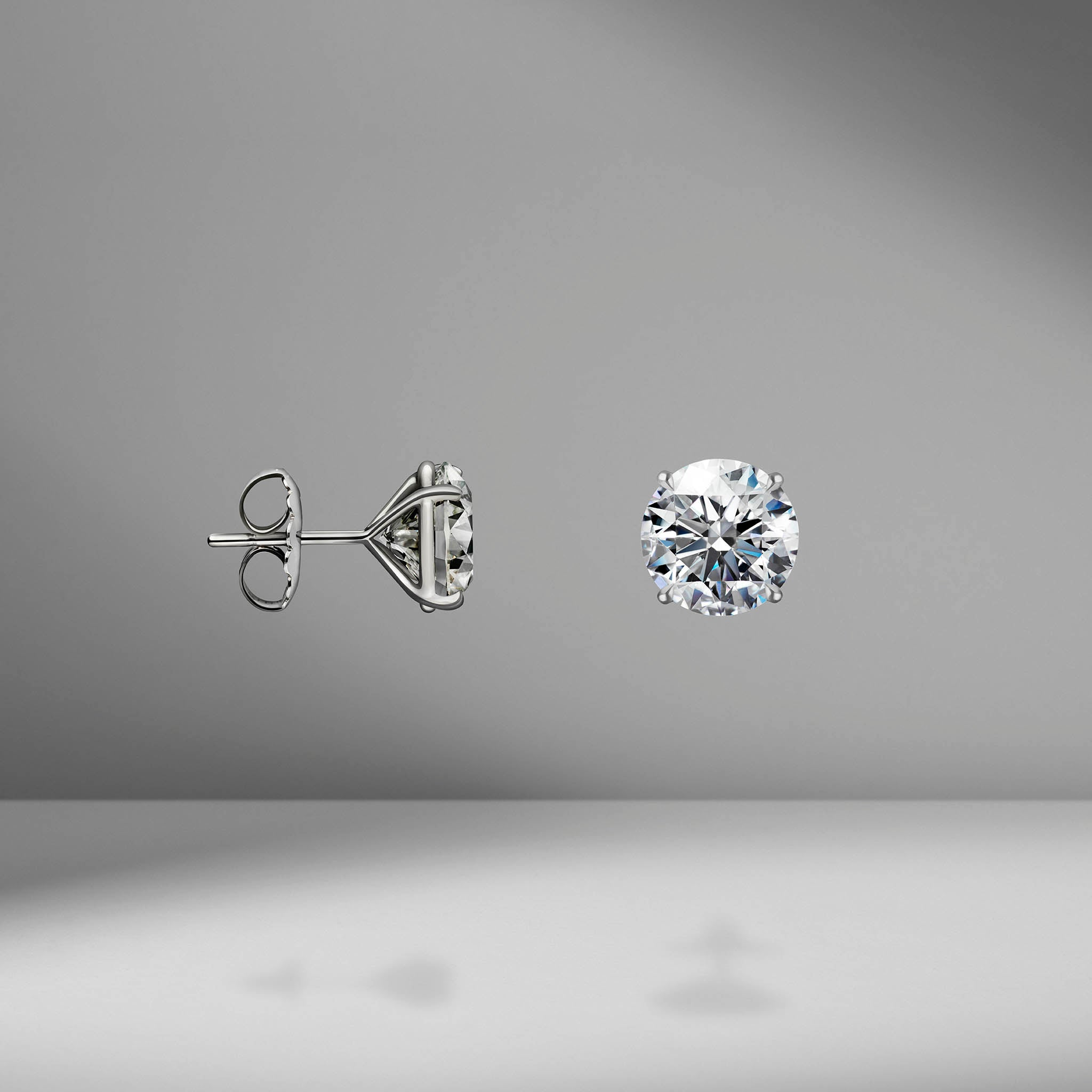 Diamond Studs - 10.00 Carat Total Weight