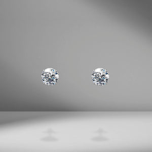 Diamond Studs - 2.00 Carat Total Weight