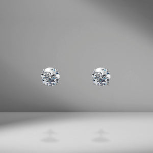 Diamond Studs - 4.00 Carat Total Weight