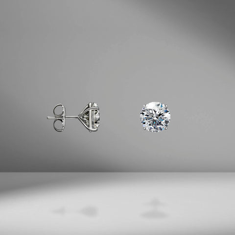 Diamond Studs - 6.00 Carat Total Weight