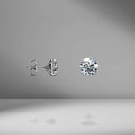 Diamond Studs - 8.00 Carat Total Weight