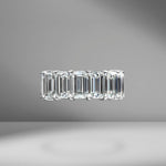 Emerald Cut Eternity Band 1.00ct