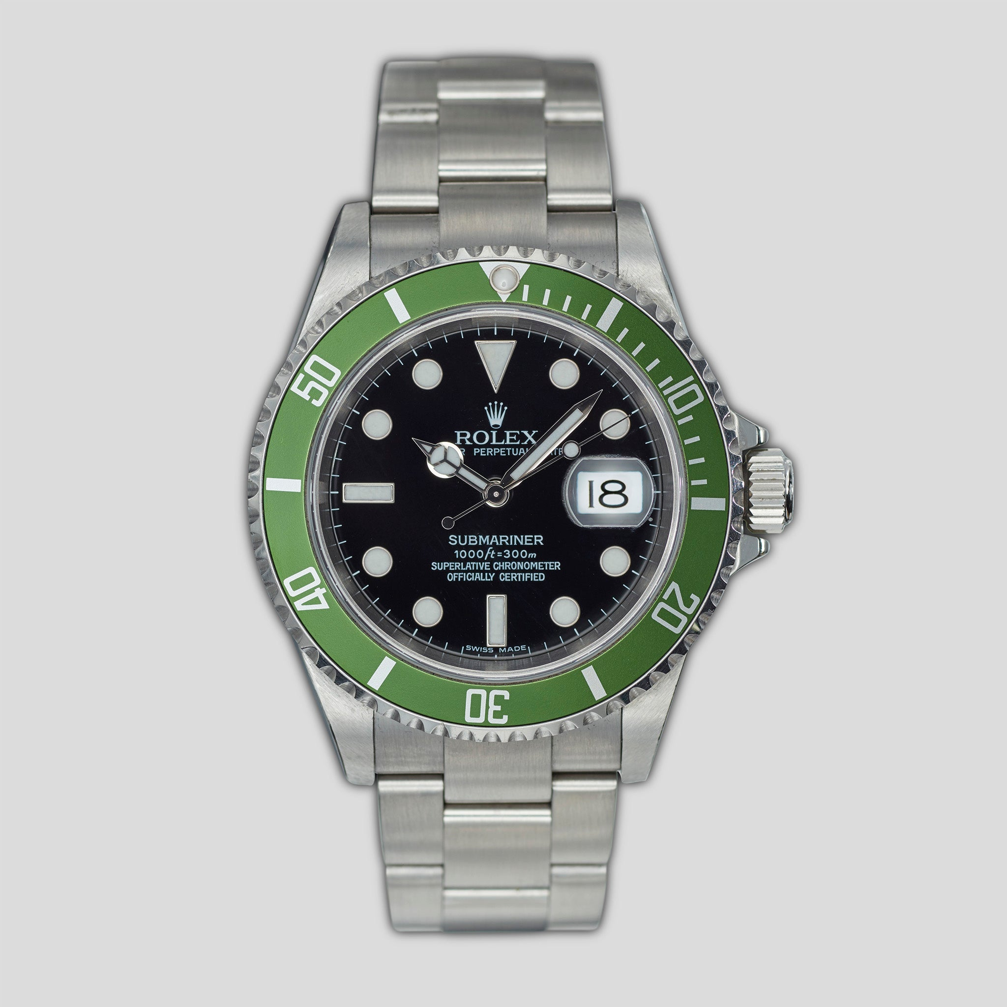 """Kermit"" Submariner Ref. 16610LV"