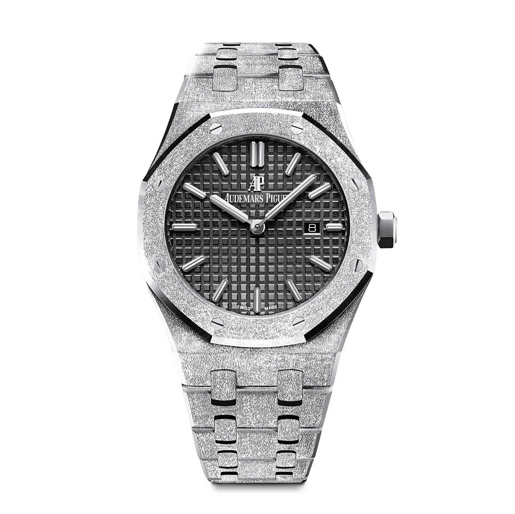 Frosted Royal Oak Ladies Selfwinding 67653BC.GG.1263BC.02